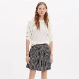 Madewell Silk Skirt